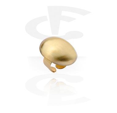 Pierścionki i obrączki, Ring, Gold Plated Brass
