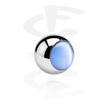 Bolas y Accesorios, Cat Eye Ball, Acero quirúrgico 316L
