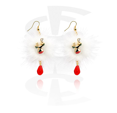 Earrings s Christmas Design
