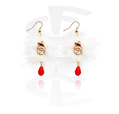 Earrings s Christmas Design