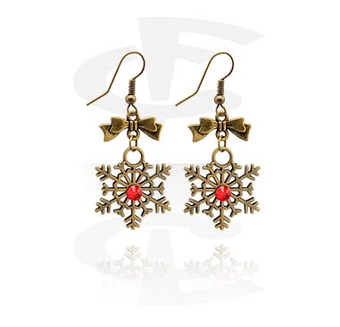 Earrings kanssa Christmas Design