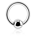 Sterilised Piercings, Sterile Ball Closure Ring, Surgical Steel 316L