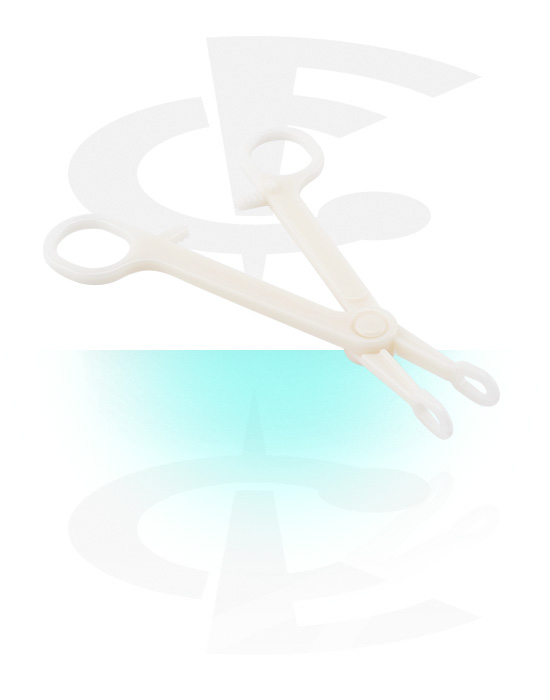 Tools & Accessories, Sterile Disposable Ring Forceps, Plastic