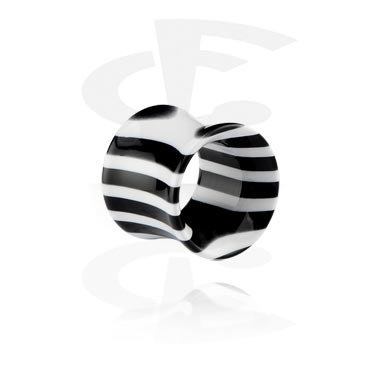 Tunely & plugy, Zebra Tube, Acrylic