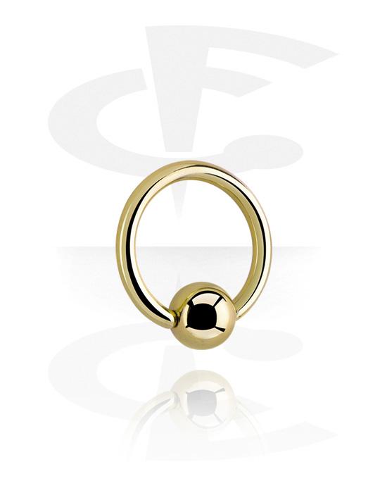 Piercingové kroužky, Ball closure ring, Zirkonová ocel