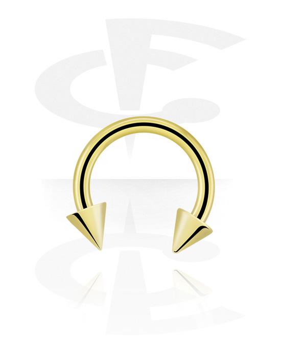 Kruhové činky, Circular barbell s cones, Zirkonová ocel