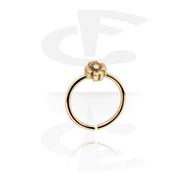 Piercing Rings, Continuous Ring, Zircon Steel
