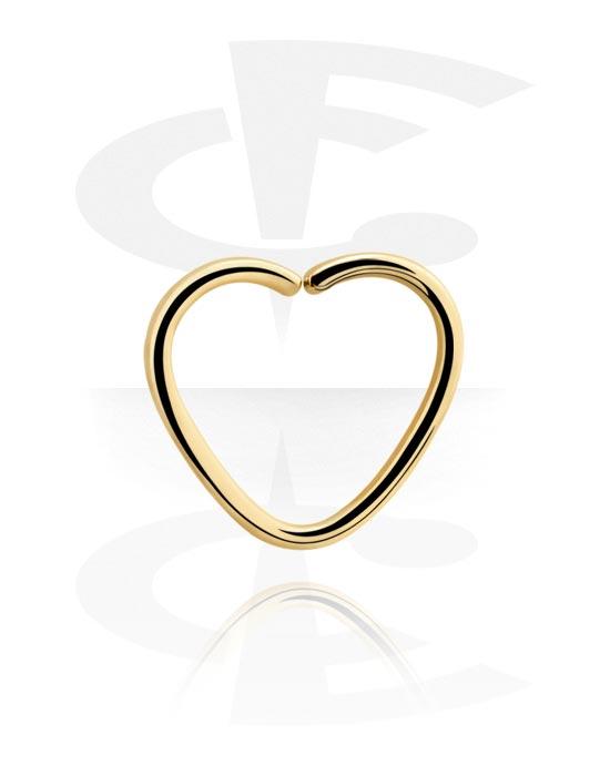 Piercingringen, Hartvormige Continuous Ring