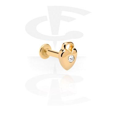 Jeweled Labret met interne schroefdraad
