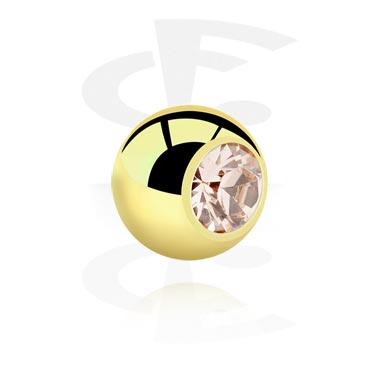 Pallot ja koristeet, Jeweled Ball, Zirkon Steel