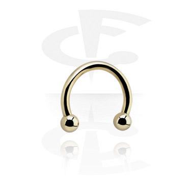 Circular Barbells, Micro Circular Barbell, Zirkon Steel