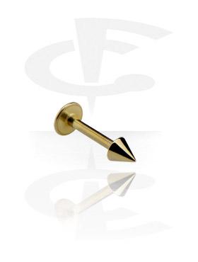 Labret, Micro Labret con Cone, Zirkon Steel