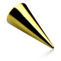 Boules et Accessoires, Long Cone, Zirkon Steel