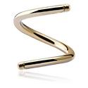 Ballen & Accessoires, Spiral Pin, Zirkoon