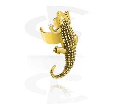 Imitacja biżuterii do piercingu, Ear Cuff, Zircon Steel