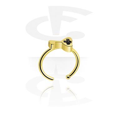 Nose Jewellery & Septums, Nose Ring, Zircon Steel