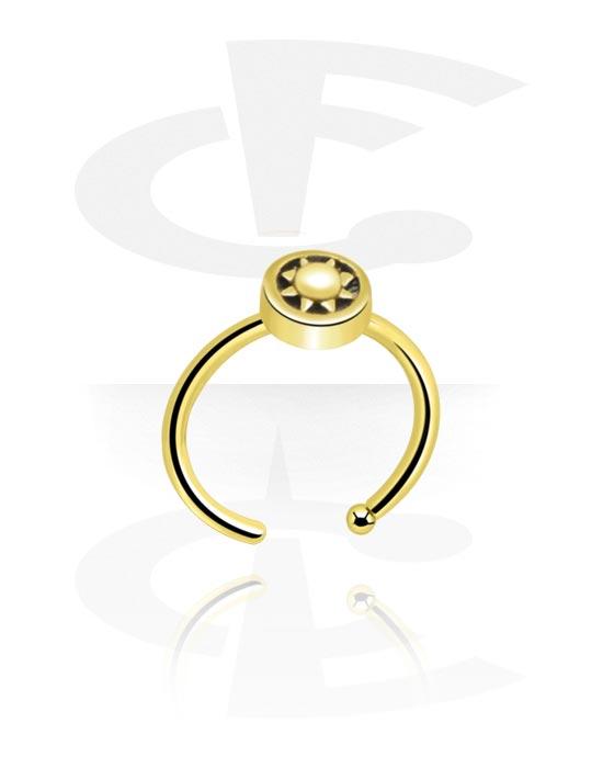 Kolczyki do nosa, Nose Ring, Zircon Steel