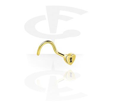 Nose Jewelry & Septums, Nose Stud, Zircon Steel